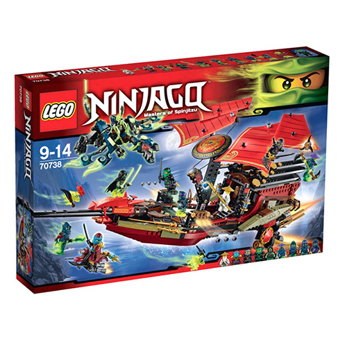 LEGO Ninja Go 70738 Корабль Дар судьбы. Решающая битва