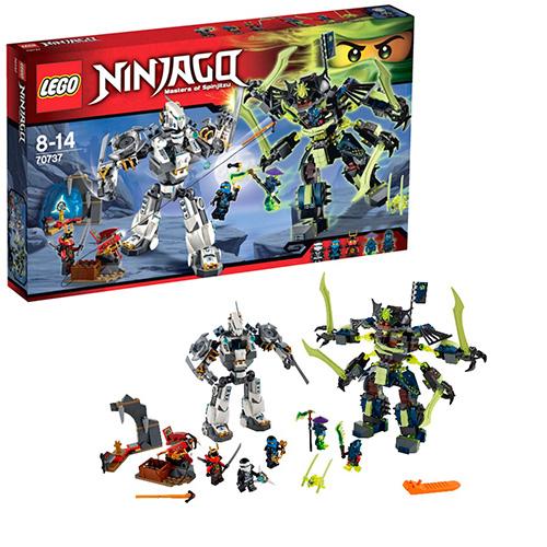 LEGO Ninja Go 70737 Битва механических роботов