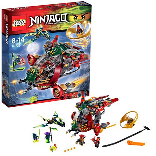 LEGO Ninja Go 70735 Корабль R.E.X. Ронана