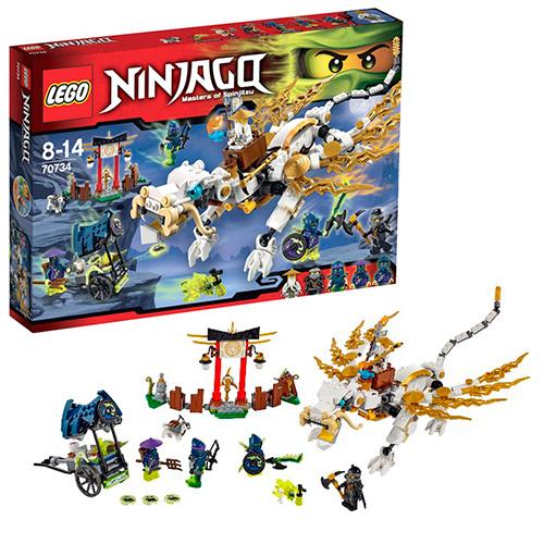 LEGO Ninja Go 70734 Дракон Сэнсэя Ву