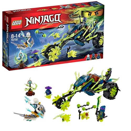 LEGO Ninja Go 70730 Засада на мотоцикле
