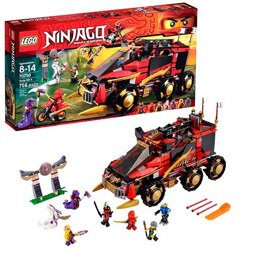 LEGO Ninja Go 70750 Мобильная база Ниндзя