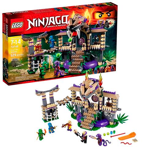 LEGO Ninja Go 70749 Храм клана Анакондрай