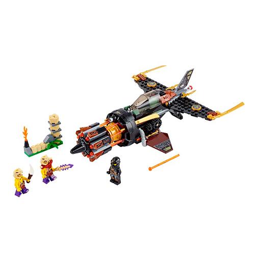 LEGO Ninja Go 70747 Скорострельный истребитель Коула