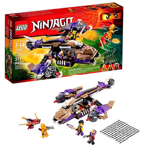 LEGO Ninja Go 70746 Вертолётная атака Анакондрай
