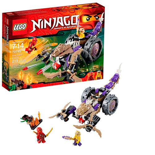 LEGO Ninja Go 70745 Разрушитель клана Анакондрай
