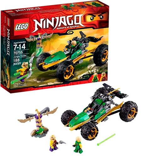 LEGO Ninja Go 70755 Тропический багги зелёного ниндзя