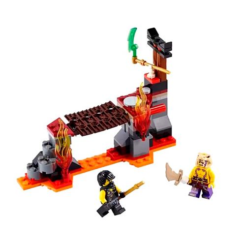 LEGO Ninja Go 70753 Сражение над лавой
