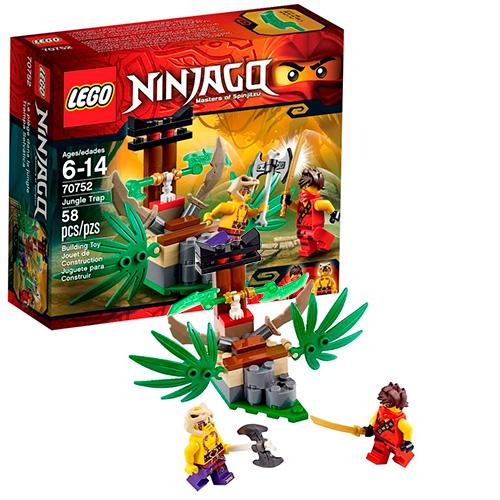 LEGO Ninja Go 70752 Ловушка в джунглях