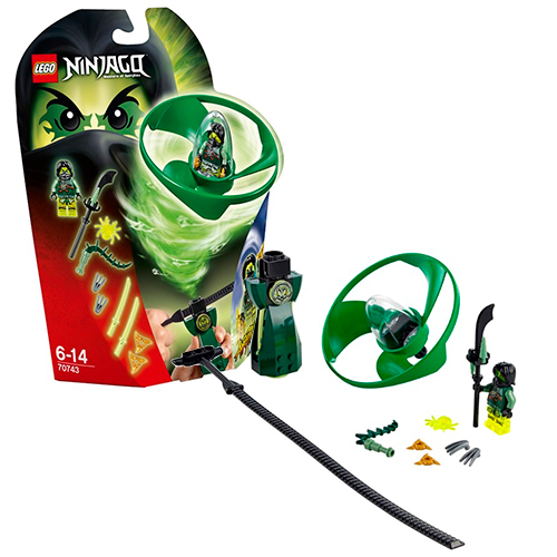 LEGO Ninja Go 70743 Флайер Аэроджитцу Моро