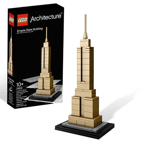 LEGO Architecture 21002 Эмпайр Стейт Билдинг