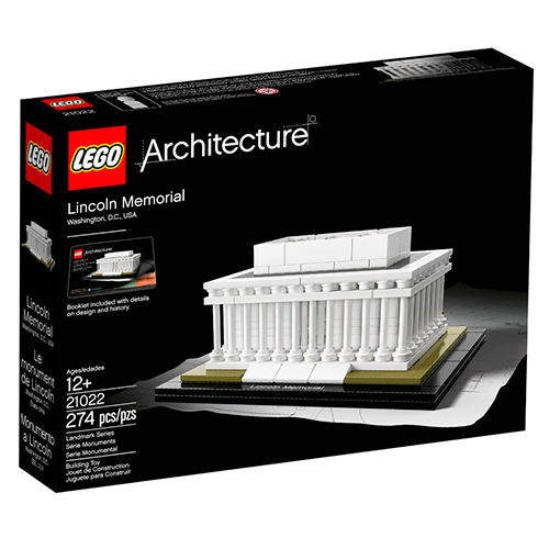 LEGO Architecture 21022 Мемориал Линкольна