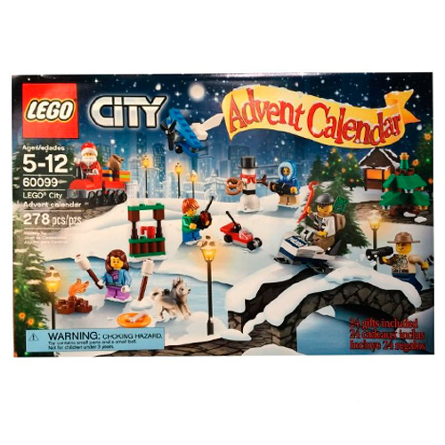 LEGO City 60099 Новогодний календарь City