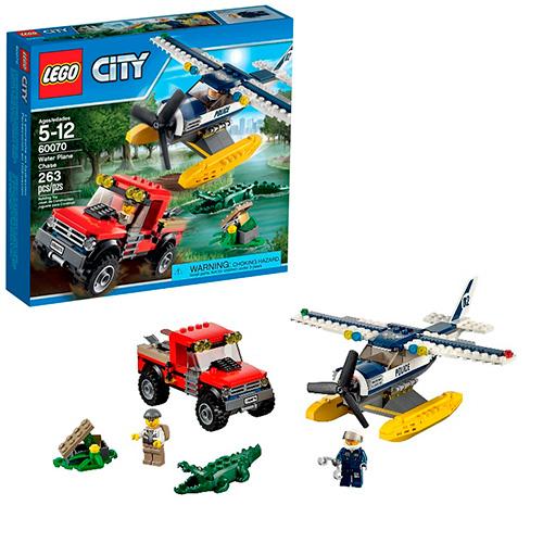 LEGO City 60070 Погоня на полицейском гидроплане