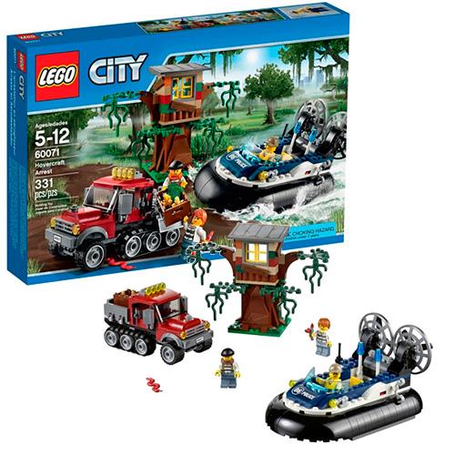LEGO City 60071 Полицейский корабль на воздушной подушке
