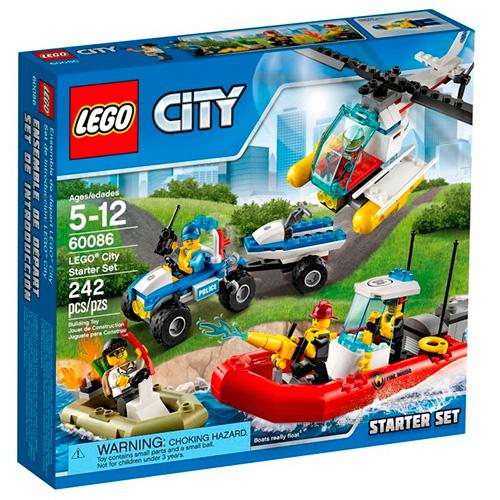 LEGO City 60086 Набор Lego City для начинающих