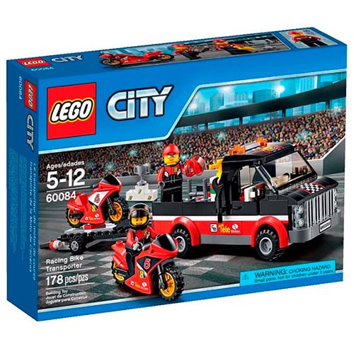 LEGO City 60084 Перевозчик гоночных мотоциклов