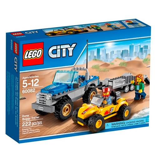 LEGO CIty 60082 Перевозчик песчаного багги