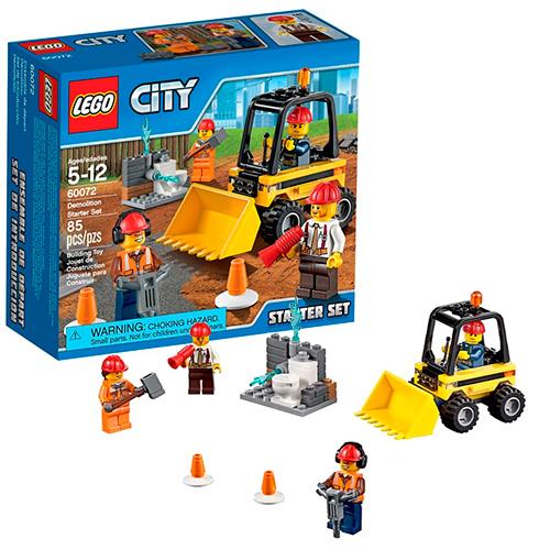 LEGO City 60072 Набор Строительная команда для начинающих