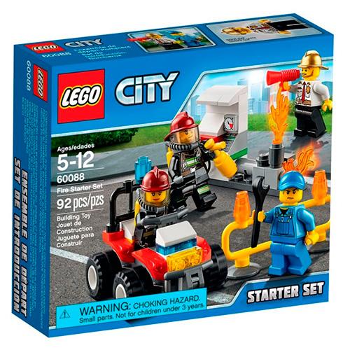 LEGO City 60088 Набор Пожарная охрана для начинающих