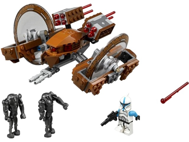 LEGO Star Wars 75085 Дроид Огненный град