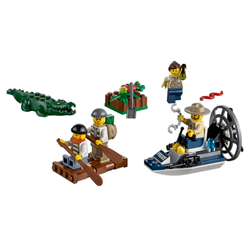 LEGO City 60066Набор Новая Лесная Полиция для начинающих