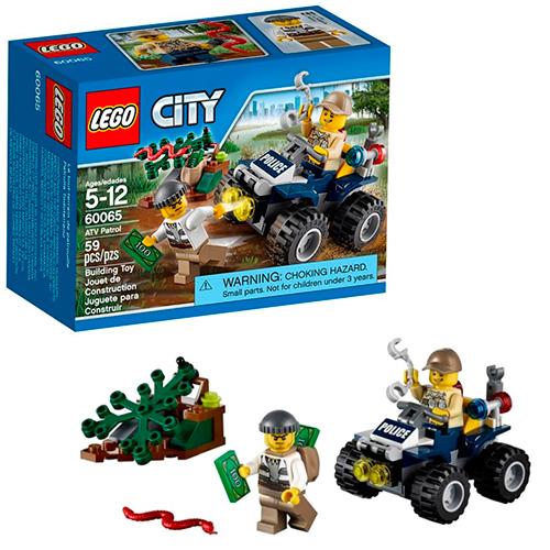 LEGO City 60065 Патрульный вездеход