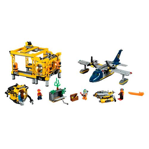 LEGO City 60096 Глубоководная исследовательская база