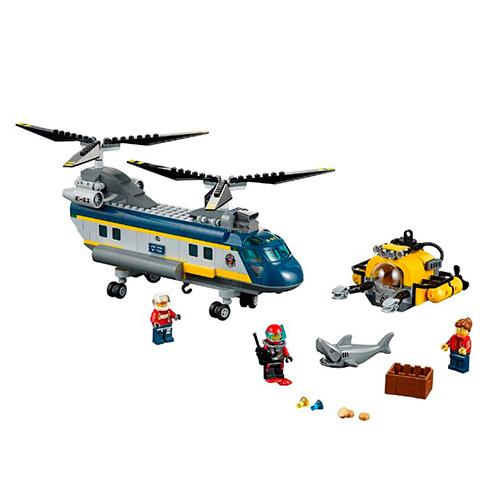 LEGO City 60093 Вертолёт исследователей моря