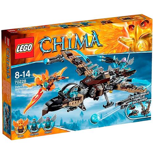 LEGO 70228 Legends Of Chima Небесный истребитель Валтрикса