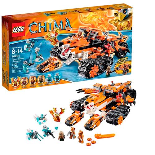 LEGO 70224 Legends Of Chima Передвижной командный пункт Тигров