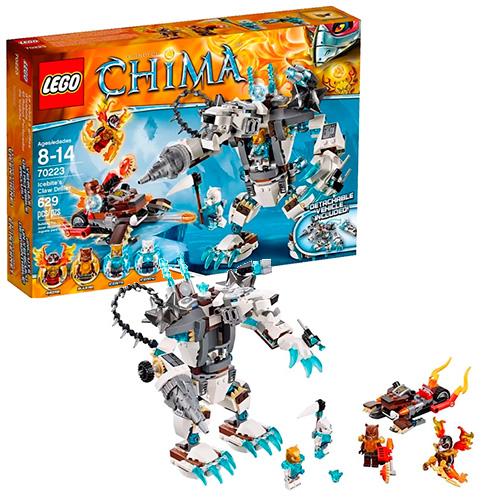 LEGO 70223 Legends Of Chima Ледяной бур Айсбайта