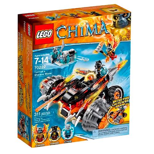 LEGO 70222 Legends Of Chima Огненный вездеход Тормака