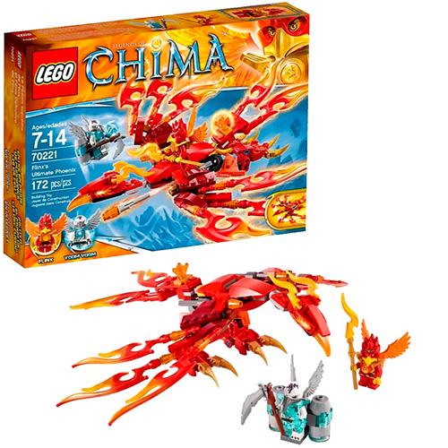 LEGO 70221 Legends Of Chima Непобедимый Феникс Флинкса