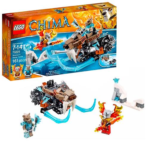 LEGO 70220 Legends Of Chima Саблецикл Стрейнора
