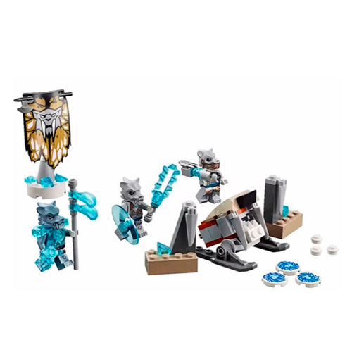 LEGO 70232 Legends Of Chima Лагерь клана Саблезубых Тигров