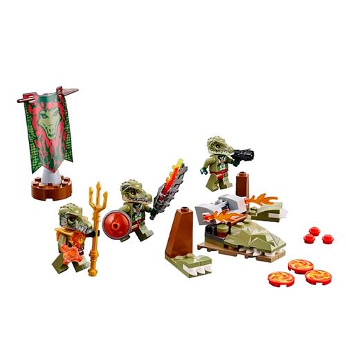 LEGO 70231 Legends Of Chima Лагерь клана Крокодилов