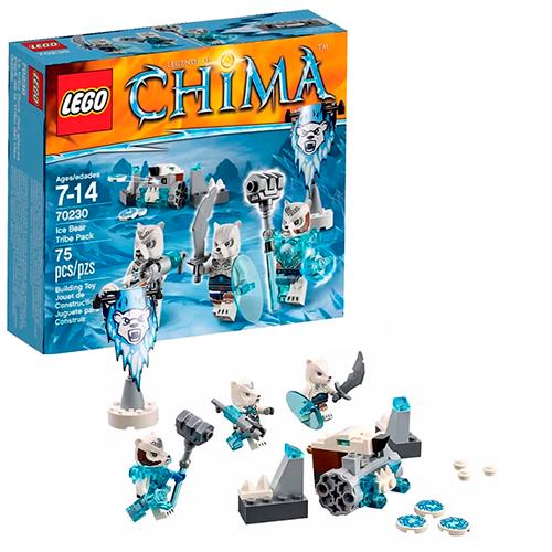LEGO 70230 Legends Of Chima Лагерь Ледяных Медведей