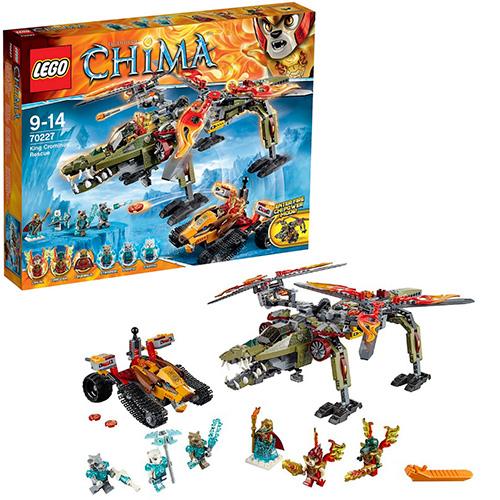 LEGO 70227 Legends Of Chima Спасение короля Кроминуса