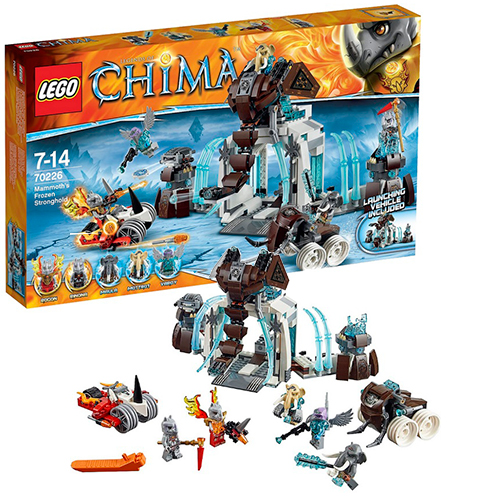 LEGO 70226 Legends Of Chima Ледяная база Мамонтов