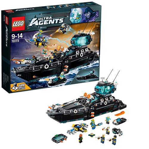 LEGO Ultra Agents 70173 Океаническая штаб-квартира Ультра Агентов