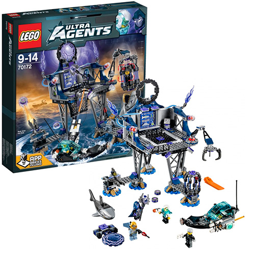 LEGO Ultra Agents 70172 Тайный портал Антиматерии