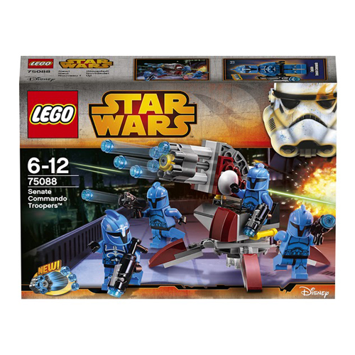 LEGO Star Wars 75088 Элитное подразделение Коммандос Сената