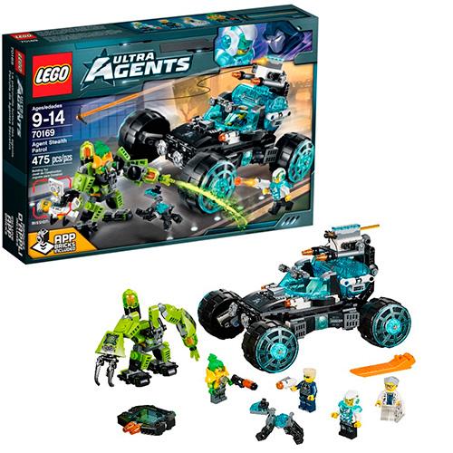 LEGO Ultra Agents 70169 Секретный патруль