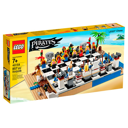 LEGO Pirates 40158 Пиратские шахматы