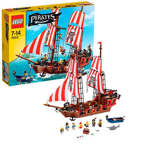 LEGO Pirates 70413 Пиратский корабль