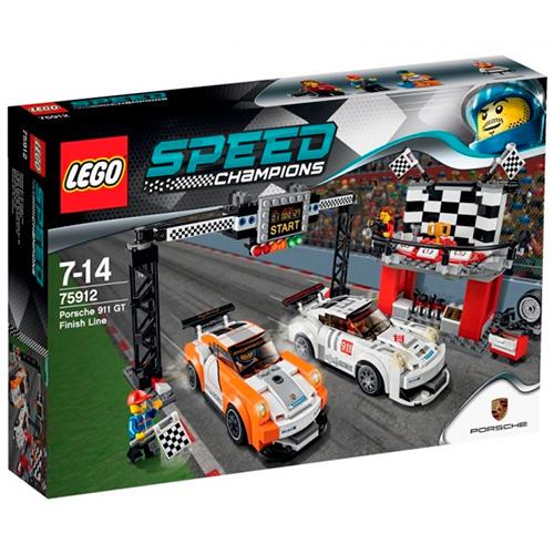 LEGO 75912 Speed Champions Финишная линия гонки Porsche 911 GT