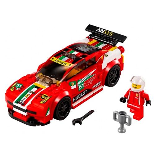 LEGO 75908 Speed Champions Феррари 458 Италия GT2